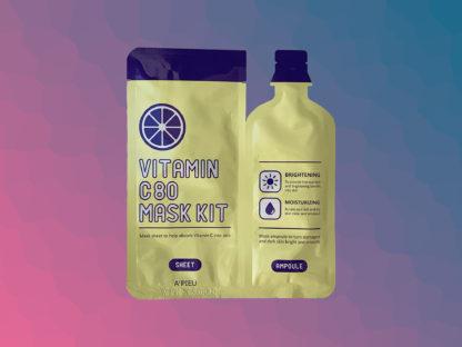 A'PIEU Vitamin C80 Mask Kit