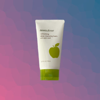 INNISFREE Refreshing deep cleansing foam with apple seed
