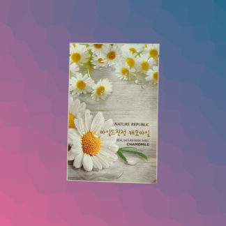 NATURE REPUBLIC Real Nature Mask Sheet - Chamomile