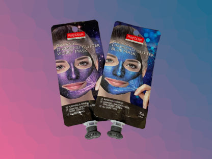 PUREDERM Galaxy Diamond Glitter Mask