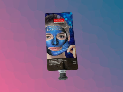 PUREDERM Galaxy Diamond Glitter Mask - Blue