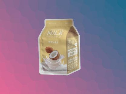 A'PIEU Milk One-Pack Mask Sheet - Coconut