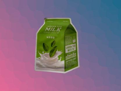 A'PIEU Milk One-Pack Mask Sheet - Green Tea
