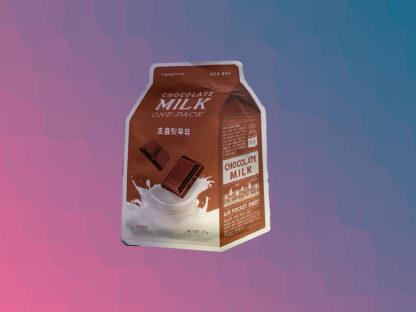 A'PIEU Milk One-Pack Mask Sheet - Chocolate